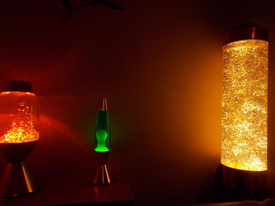 mystery crestworth glitter fill orange bulb
