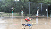 tennis serves- teaching beginners
