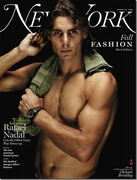 RAFA'S NEW YORK MAGAZINE COVER