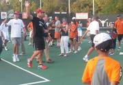 Davis Cup 2011 USA vs. Spain pre-events we meet them all