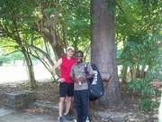 Eben and Dan after match