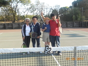 Alameda tennis at the Ballena Bay Tennis Courts