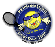 BabyTalk Tennis from The Motto Shop