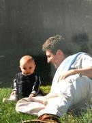 Jason and, oldest son, Simon
