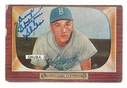 "1955 Bowman signed by George ""Shotgun"" Shuba"