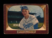 1955 Bowman signed by Russ Meyer