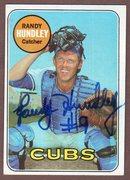 1969 topps signed hundley