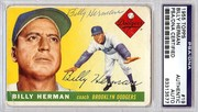 1955 Topps signed by Billy Herman