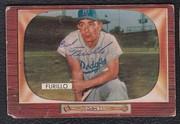 1955 Bowman signed Carl Furillo