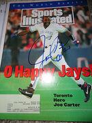 1993 Sports Illustrated Joe Carter walk off HR to win 93 world series