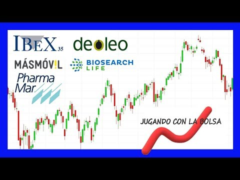 Análisis de Ibex, Masmovil, Pharmamar, Deoleo y Biosearch