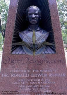 Ronald McNair Monument