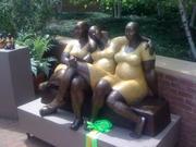 Black women nannies tired