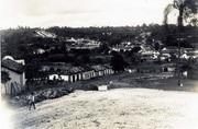 Rancho do Bambá parada de tropeiros e matadouro vista do alto do Rosário fundo Rua Dr Gravatá e Gov Valadares