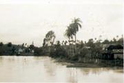 Rio Betim na area pertencente a  fazenda do Dr. Paulo, déc. de 40