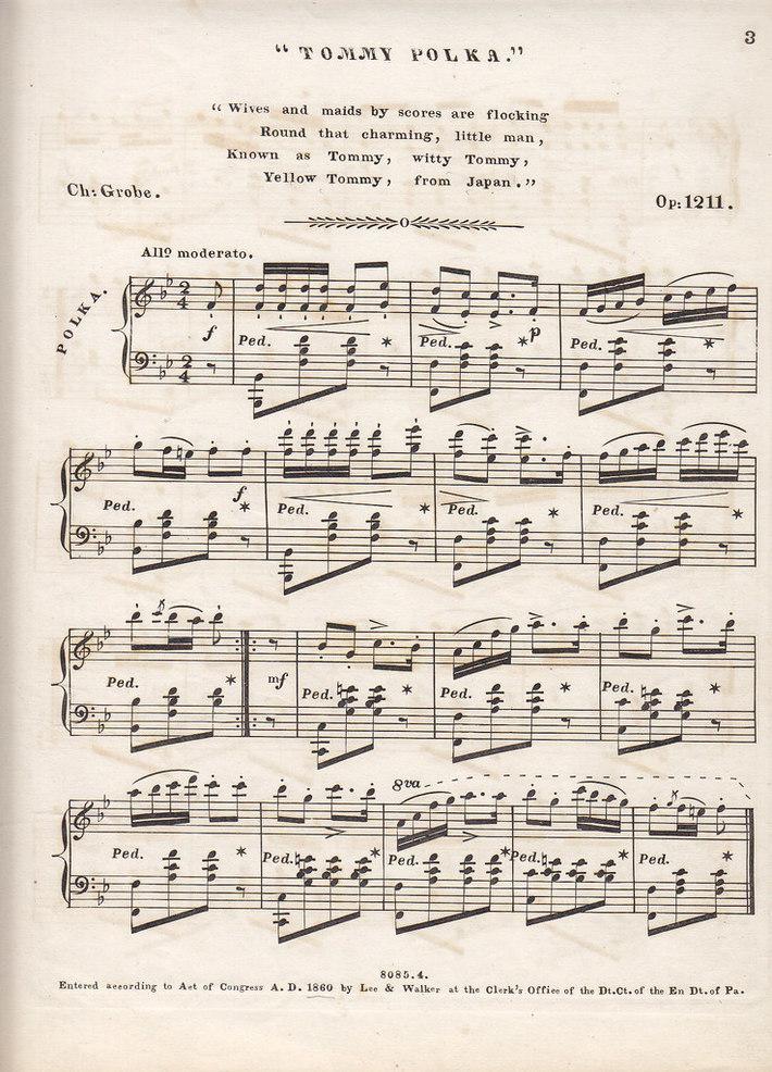 Tommy Polka (1860) p. 2