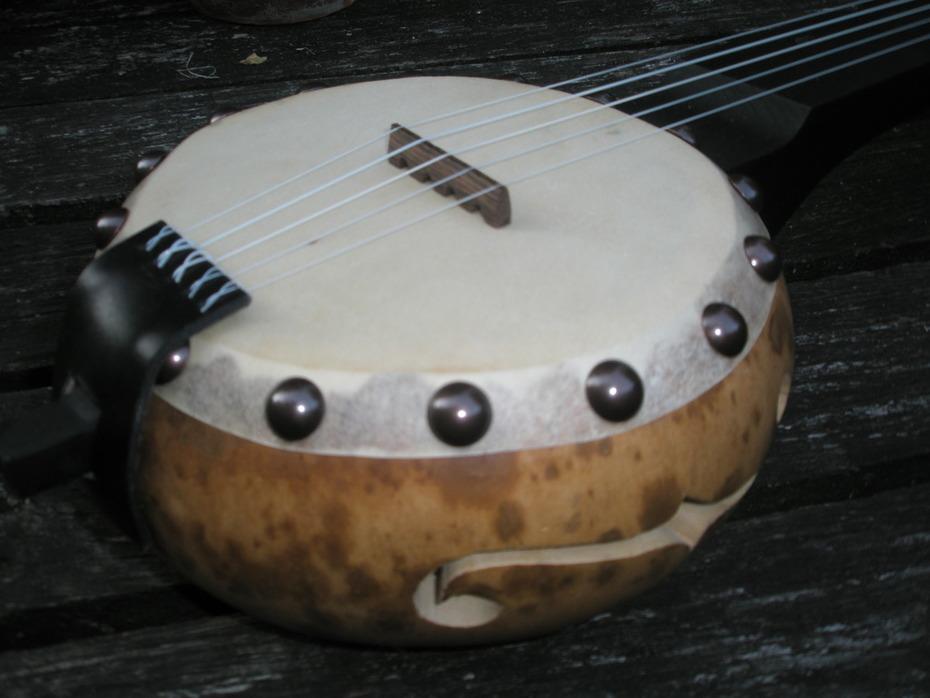 Gourd banjo