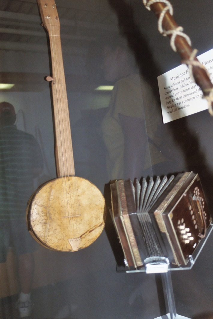 Gettysburg banjo