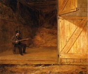 Banjo Player(s) In The Barn