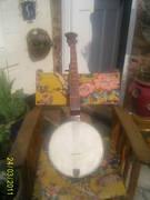 Heseltine banjo front view
