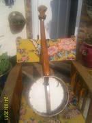Heseltine banjo back view