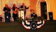 Roscoe, Lee & Abadie perform at Washington, Arkansas