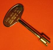Banjo Wing Nut  Key