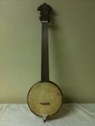 Fretless Tenor Banjo Ukulele I Made Aug 2011