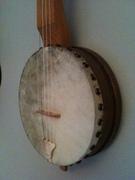 Fretless Menzies Tackhead banjo (pot)