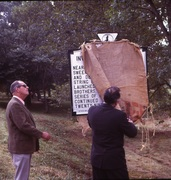 Sweeney Dedication- Marker Unveiling- Sep. 23 '72-8