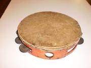 1858 tambourine