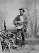 Unidentified Banjo Player
