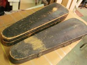 old wood fiddle cases