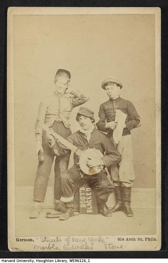Ed. Marble, George Wilkes & A. C. Stone
