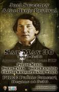 Joel Sweeney & the Banjo Festival THIS Saturday May 30th