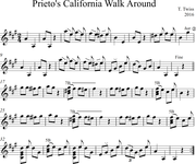 Prieto's California Walk Around