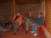 Diego y Tania con vecinos del B° La Tradicion