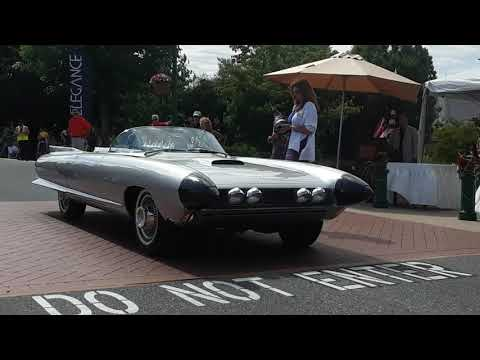 1959 Cadillac Cyclone Concept Receiving Recognition At the 2019 Elegance At Hershey
