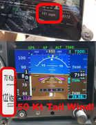 50 kt tail wind
