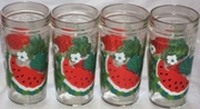 Anchor Hocking Watermelon glasses