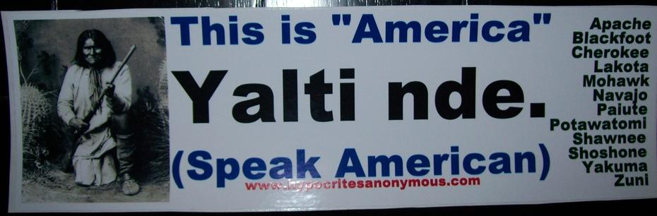 Speak American (Native American)