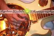 Jackson's hand and Guitar