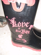 Boots Close-Up