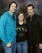 Daniel, me, and Christopher!