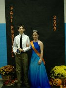 Me and my friend won the fall festival!!