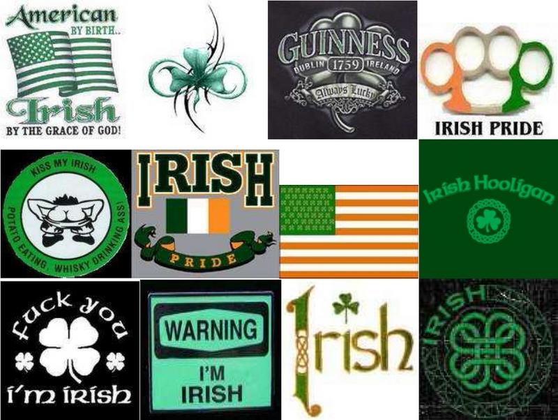 irish collage