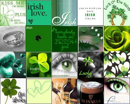 irish collage
