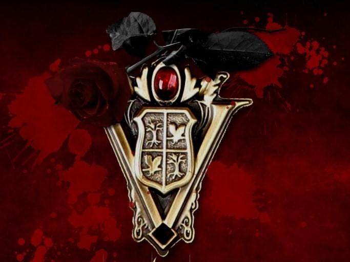 Volturi Crest & Black Rose