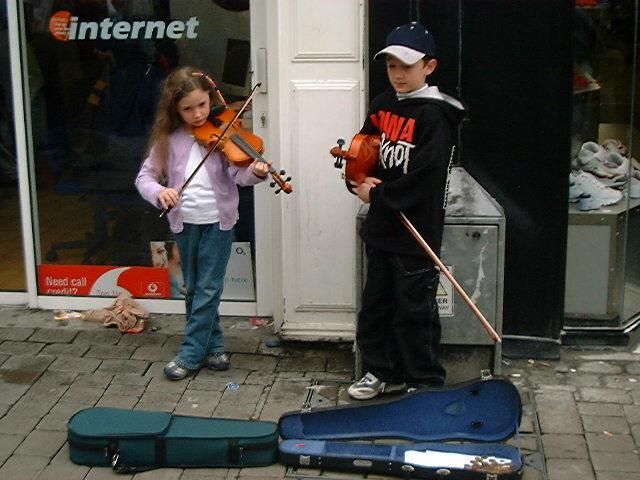 Galway Kids playing