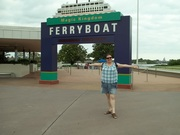 The ferry port to the Magic Kingdom